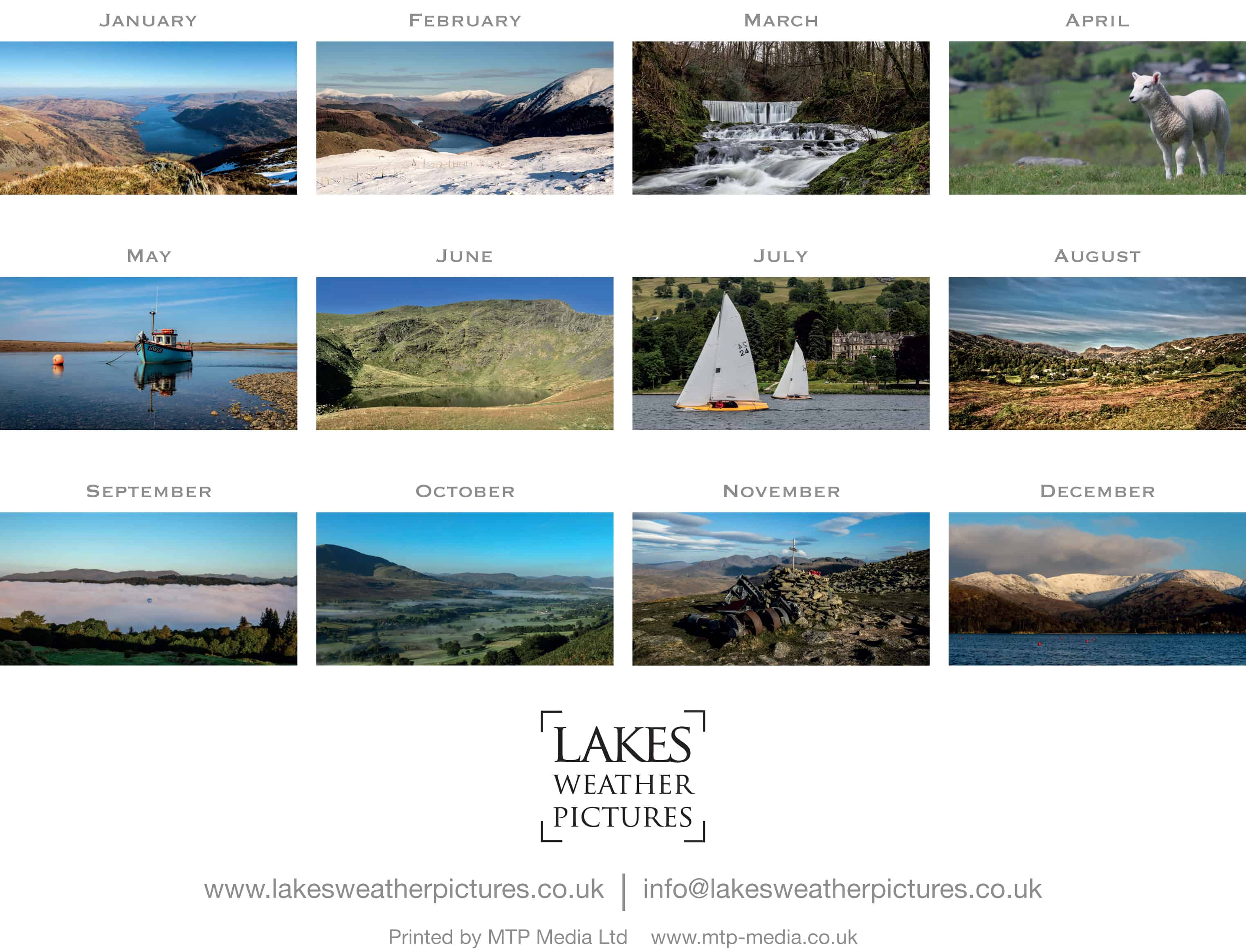 00000 Richard Rigg - Lakes Weather Pictures Calendar 2019.indd